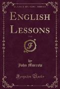 English Lessons, Vol. 1 (Classic Reprint)