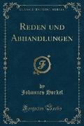 Reden Und Abhandlungen (Classic Reprint)
