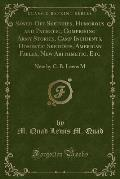 Sawed-Off Sketches, Humorous and Pathetic, Comprising Army Stories, Camp Incidents, Domestic Sketches, American Fables, New Arithmetic, Etc: New by C.