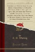 Evidences of Modern Spiritualism, Being a Debate Held at Decatur, Michigan, March 12th, 13th and 14th, 1861, Between Mr. Whiting and REV. Jos, Jones,