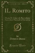 Il Romito: Ossia, Il Colpevole Ravveduto; Avventure Piacevoli Ed Istruttive (Classic Reprint)