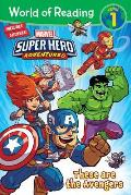 World of Reading Super Hero Adventures These are the Avengers Level 1