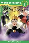 World of Reading: Disney Villains 3-Story Bind-Up