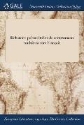Richardet: Poeme Italien de Carteromaco: Traduit En Vers Francais