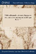 Fables Allemandes, Et Contes Francais En Vers. Ptie 1: Avec Un Essai Sur La Fable: Par M. D. **
