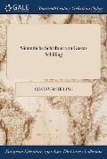 Sammtliche Schriften: Von Gustav Schilling