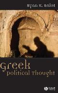 Greek Political Thought