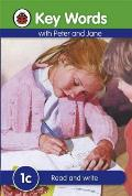 Key Words with Peter and Jane #1 Read and Write Series C