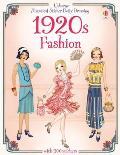 1920s Fashion Historical Sticker Dolly Dressing