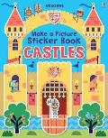 Make a Picture Sticker Book Castles