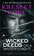 Wicked Deeds On A Winters Night Immortals After Dark 03