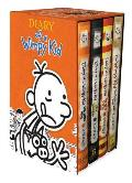 Diary of a Wimpy Kid Box of Books (9-11 Plus Diy)