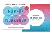Marker Workshop 2 Books in 1 Learn to Ink in 50 Experiments