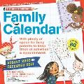 The Questioneers 17-Month 2020-2021 Family Wall Calendar: August 2020-December 2021