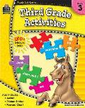 Ready-Set-Learn: 3rd Grade Activities [With Sticker(s)]