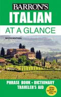 Italian At a Glance Foreign Language Phrasebook & Dictionary