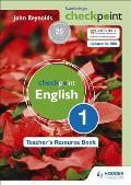 Cambridge Checkpoint English Teacher's Resource Book 1