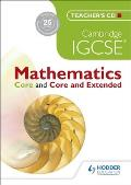 Cambridge Igcse Mathematics Core and Core and Extended Teachers CD