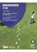 Cim - 3 Marketing Information and Research: Study Text