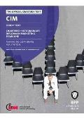 Cim - 12 Managing Corporate Reputation: Study Text
