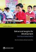 Behavioral Insights for Development: Cases from Central America