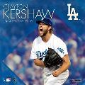 Los Angeles Dodgers Clayton Kershaw: 2020 12x12 Player Wall Calendar