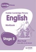 Hodder Cambridge Primary English: Work Book Stage 5