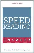 Speed Reading in a Week: Teach Yourself