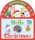 Hello Christmas Peek A Boo Playbook
