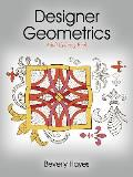 Designer Geometrics: Adult Coloring Book