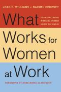 What Works for Women at Work Four Patterns Working Women Need to Know