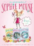 Adventures of Sophie Mouse 3 Books in 1 A New Friend The Emerald Berries Forget Me Not Lake