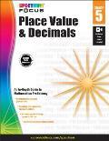 Spectrum Place Value and Decimals, Grade 5