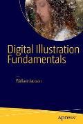 Digital Illustration Fundamentals Vector Raster Waveform Newmedia with Dicf Daef & Asnmf