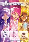 Star Darlings Collection Volume 1 Sage & the Journey to Wishworld Libby & the Class Election Leonas Unlucky Mission