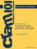 Studyguide for Probability and Statistics: The Science of Uncertainty by Evans, Michael J., ISBN 9780716747420