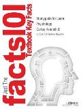 Studyguide for Learn Psychology by Carter, Kenneth E, ISBN 9781449695873
