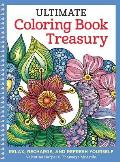 Ultimate Coloring Book Treasury Relax Recharge & Refresh Yourself