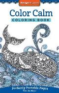 Color Calm Coloring Book On The Go