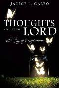 Thoughts about the Lord
