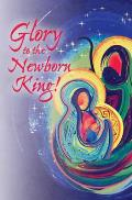 Newborn King Nativity Christmas Bulletin (Pkg of 50): African American Bulletin Set