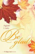 Be Glad Thanksgiving Bulletin (Pkg of 50)