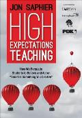 High Expectations Teaching How We Persuade Students To Believe & Act On Smart Is Something You Can Get