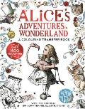Alices Adventures in Wonderland A Colouring Transfer Book