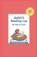 Aaden's Reading Log: My First 200 Books (Gatst)