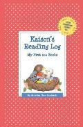 Kaison's Reading Log: My First 200 Books (Gatst)