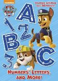 Numbers Letters & More Paw Patrol