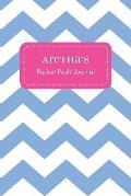 Aretha's Pocket Posh Journal, Chevron