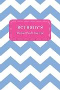 Bethany's Pocket Posh Journal, Chevron