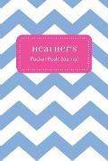 Heather's Pocket Posh Journal, Chevron